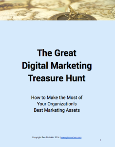 Marketing treasure hunt 2