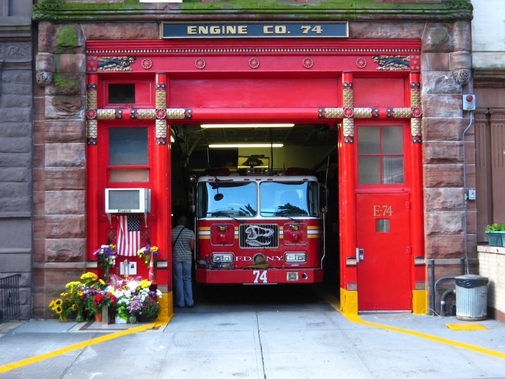 Dino fire engine